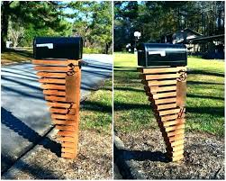 mailbox post plans. Brilliant Mailbox 6x6 Mailbox Post Plans Wood How To Build A Wooden Homes  On Mailbox Post Plans I