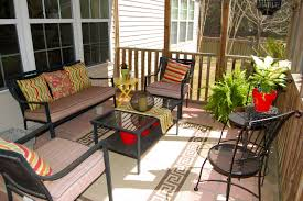 screen porch furniture ideas. Decor Awesome Small Screen Porch Decorating Ideas On A Budget Gallery With Furniture D
