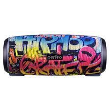 Акустическая система <b>Perfeo Hip</b> Hop граффити – выгодная цена ...