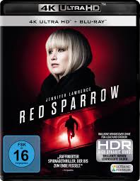 UHD Blu-ray Kritik | Red Sparrow (4K Review, Rezension)