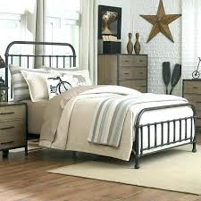 Iron Bed Queen Cast Iron Bed Frame Antique Iron Bed Frame Throughout ...