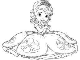 Disegno Di Principessa Sofia Da Colorare Disegni Da Colorare E
