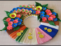 Small Picture DIY Wall Decoration Idea How to Make a Paper Wreath for Home