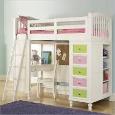 girl bunk beds with desk wonderful on home decors about remodel loft bed full for teens