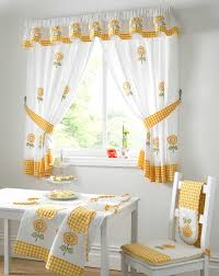 Sunflower Curtains For Kitchen Country Kitchen Curtains Sunflower Cloudpix