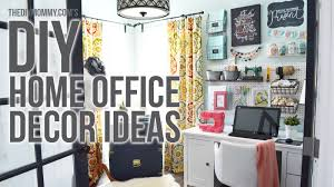 on craft room wall decorations with craft room home office tour 3 easy diy office decor ideas youtube