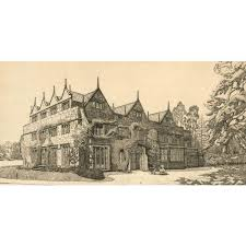 d smith 1928 etching floore house