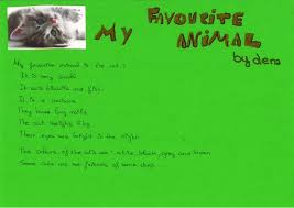 favourite animal is my favourite animal is