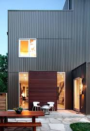 fascinating corrugated steel siding patriot red corrugated roof wall panels on building