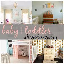 Joyful Life : Shared Nursery - Baby | Toddler Rooms! | Shared ...