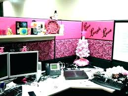 cubicle office decor pink. Desks: Office Desk Decor Girly Feminine Accessories Setup Supplies Best Cute Ideas On Pink Bedroom Cubicle C