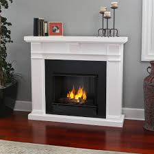 environment friendly fireplace with real flame gel fuel painted fireplace with real flame gel fuel