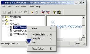 Step 4 Compile An Ascii Form Cimplicity Documentation