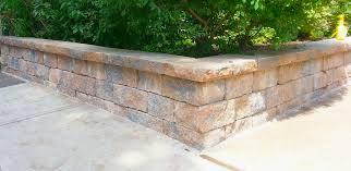 small precast block retaining walls