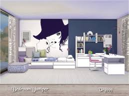 bedroom juniper on the sims resource sims 3 wall art with ung999 s bedroom juniper