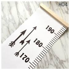 Universal Baby Height Growth Chart Hanging Rulers Kids Room