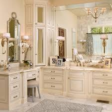 bathroom cabinet ideas furniture. luxury traditional bathroom design interior decorated with cream wooden corner vanity furniture ideas cabinet