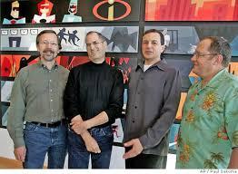 john lasseter steve jobs. Brilliant Steve Remembering Steve Jobs And His DisneyPixar Legacy And John Lasseter B