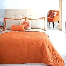 burnt orange duvet orange bedding uk outstanding camping bed