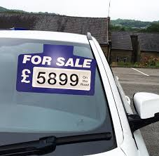 For Sale Sign On Car 10 X Blue For Sale Sign Board Car Price Pricing Sun Visor 41 00
