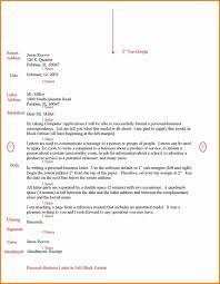 Address Block Format In Word Business Letter Pdf Proper Return