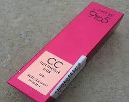 lakme 9 to 5 color transform cc cream