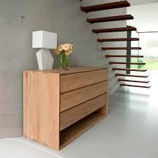 Oak Bedroom Chest Of Drawers Ethnicraft Nordic Oak 3 Drawer Chest Of Drawers Solid Wood Furniture