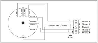 difference between 4 wire 6 wire and 8 wire stepper motors figure 3 8 wire stepper motor series configuration