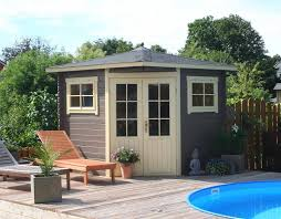 5 Eck Gartenhaus Modell Sunny B 5 Eck Gartenhäuser Teil 2 Patio