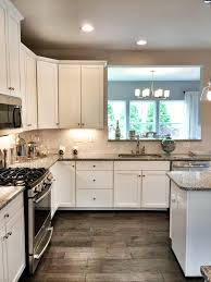 Wooden Flooring For Kitchens Ryan Homes Build Fox Chapel Model Kitchen Our Kitchen Cabinets