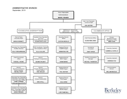 Organization Chart Vice Chancellor Administration