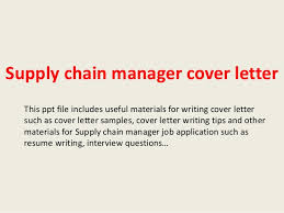 Supply Chain Cover Letter Supply Chain Manager Cover Letter 1 638 Jpg Cb 1393286989