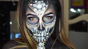 diamond skeleton makeup