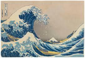 katsushika hokusai 1760 1849 kanagawa oki nami ura in the well