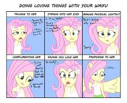 Equestria Girls Fluttershy Waifu Chart By Varemiaart