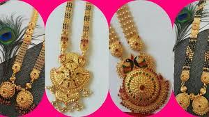 Ganthan Design In Gold Latest Gold Long Ganthan Designs Ll Bridal Gold Long Mangalsutra Designs