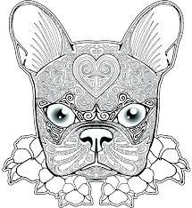 pug coloring pages to print bulldogs doggy free bulldog sheets es animals cute colouring e