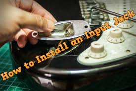 how to install an input jack on your guitar how to install an input jack on your guitar