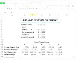 Simple Interest Spreadsheet Free Balloon Payment Excel Template