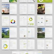 Data table design inspiration Attractive Green White Datatable Large Illustration Bifold Brochure Set Freelancer Brochure Design Inspiration Samples Templates Free Inspiration