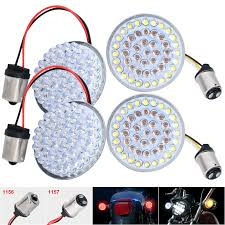 Bullet Led Lights Details About 2 Front 1157 Rear 1156 Bullet Led Turn Signals Lights Lamp For Motorcycle