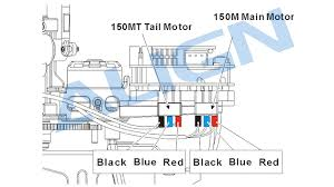 trex 150 parts hml15m01 150m main motor set helipal wiring schematic drawing