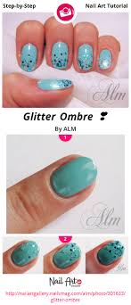 Glitter Ombre ❣ - Nail Art Gallery Step-by-Step Tutorial Photos