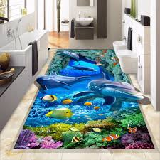 Non Slip Vinyl Flooring Kitchen Online Get Cheap Custom Vinyl Floor Stickers Aliexpresscom