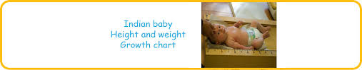 Baby Boy Weight Chart Indian Baby Weight And Height Chart