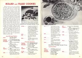 aunt jenny s old fashioned cookies recipe book pages 16 17