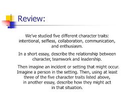 leaders in the making teamwork lesson adaptability ppt  3 review