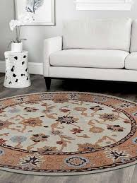 rugsotic carpets hand tufted woolen area rug vintage cream brown traditional area rugs by get my rugs llc