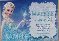 elsa birthday invitations collection of frozen party invitations free invitation template