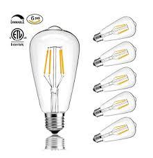cmyk vintage edison led bulb